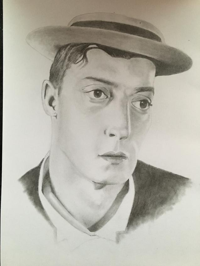 Buster Keaton by Lcjartwork